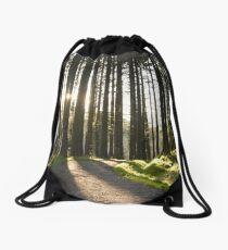 Retreating Sun Drawstring Bag
