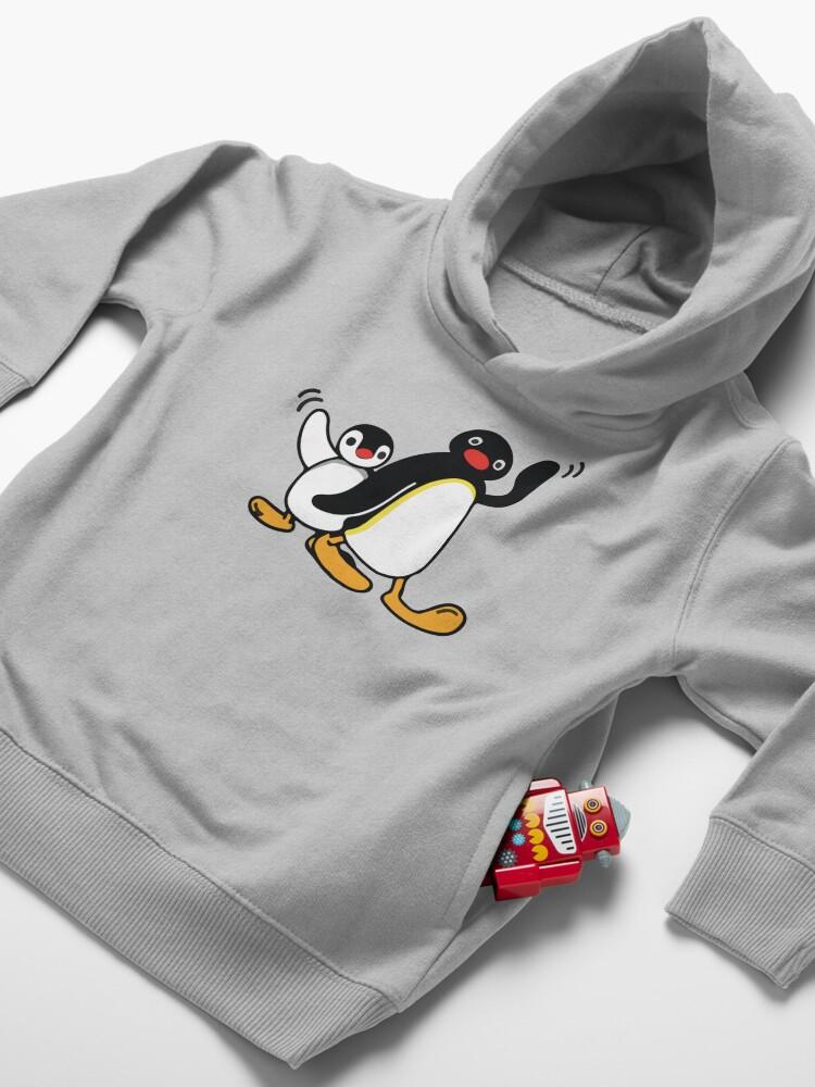 Alternate view of Pingu Toddler Pullover Hoodie