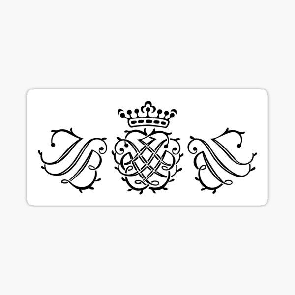 JS Bach seal Sticker