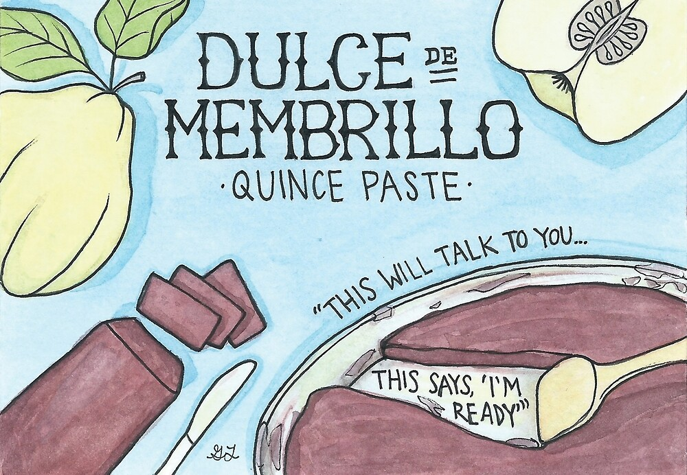 Dulce de Membrillo | Quince Paste by Gina Lorubbio