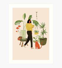 Migrating a Plant Art Print