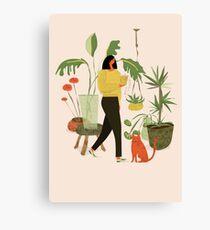 Migrating a Plant Canvas Print