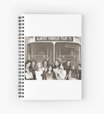 Almost Famous Spiral Notebook