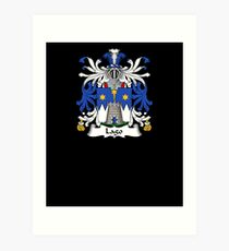 Lago Coat of Arms - Family Crest Shirt Art Print