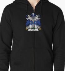 Lago Coat of Arms - Family Crest Shirt Zipped Hoodie