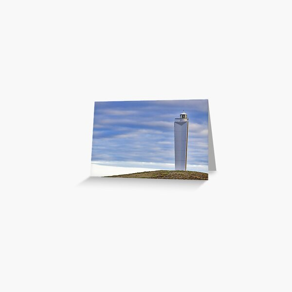 Lighthouse at Cape Jervis Greeting Card