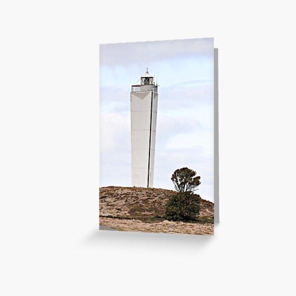 Lighthouse, Cape Jervis, South Australia Greeting Card