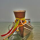 thai long tail boat by michelle meenawong