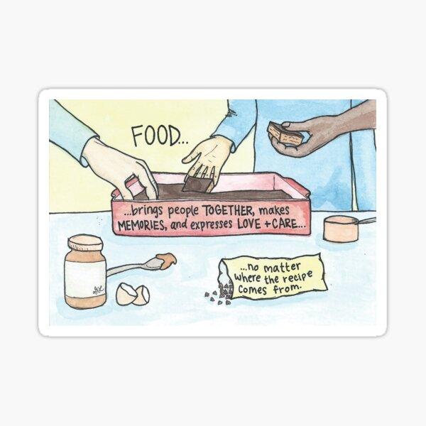 No Matter Where the Recipe Comes From Sticker