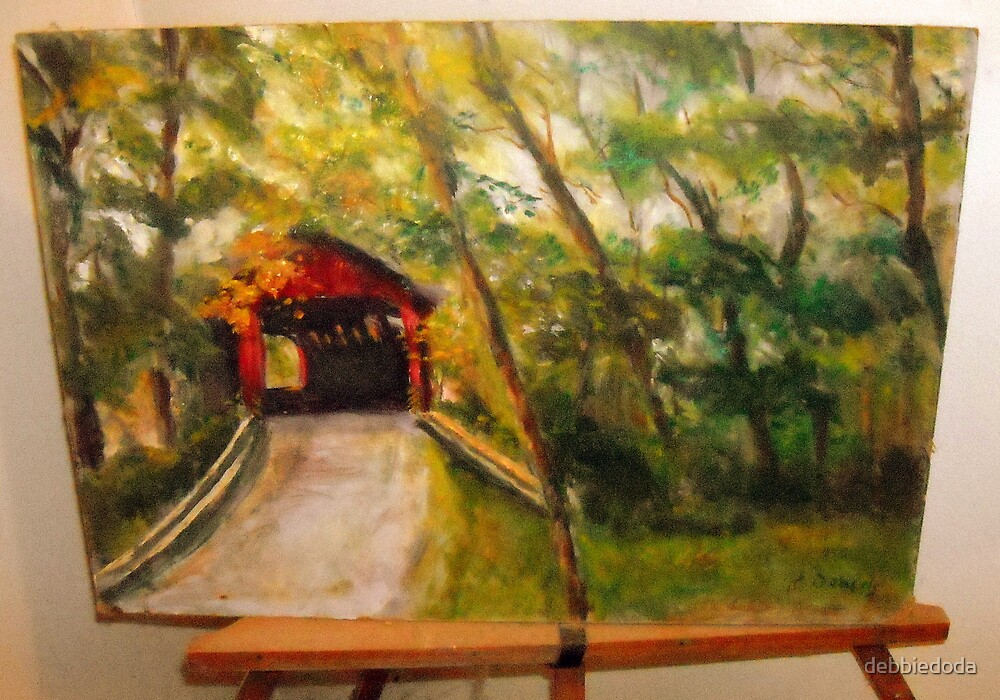 My Father's Painting by debbiedoda