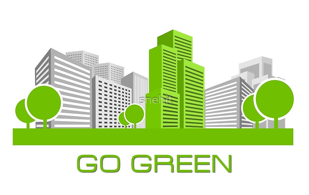 GO GREEN by snehit