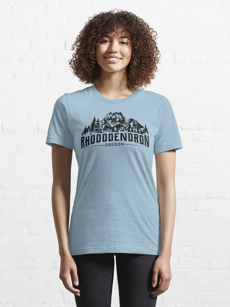 Alternate view of Rhododendron Oregon Essential T-Shirt