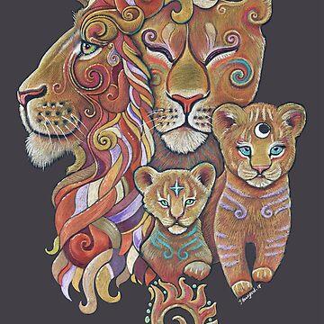 Lion Totem by Jezhawk