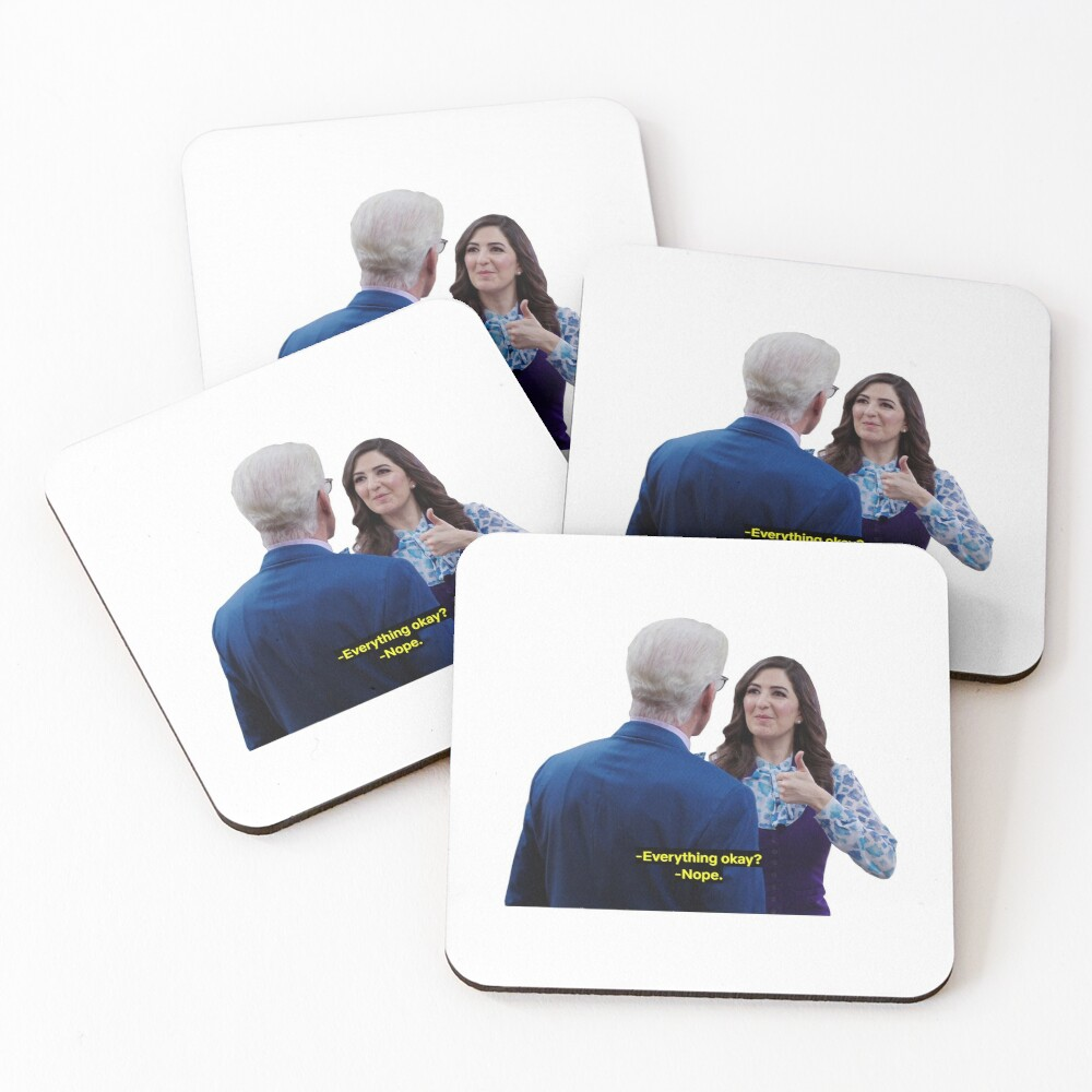 Everything okay? nope Coasters (Set of 4)