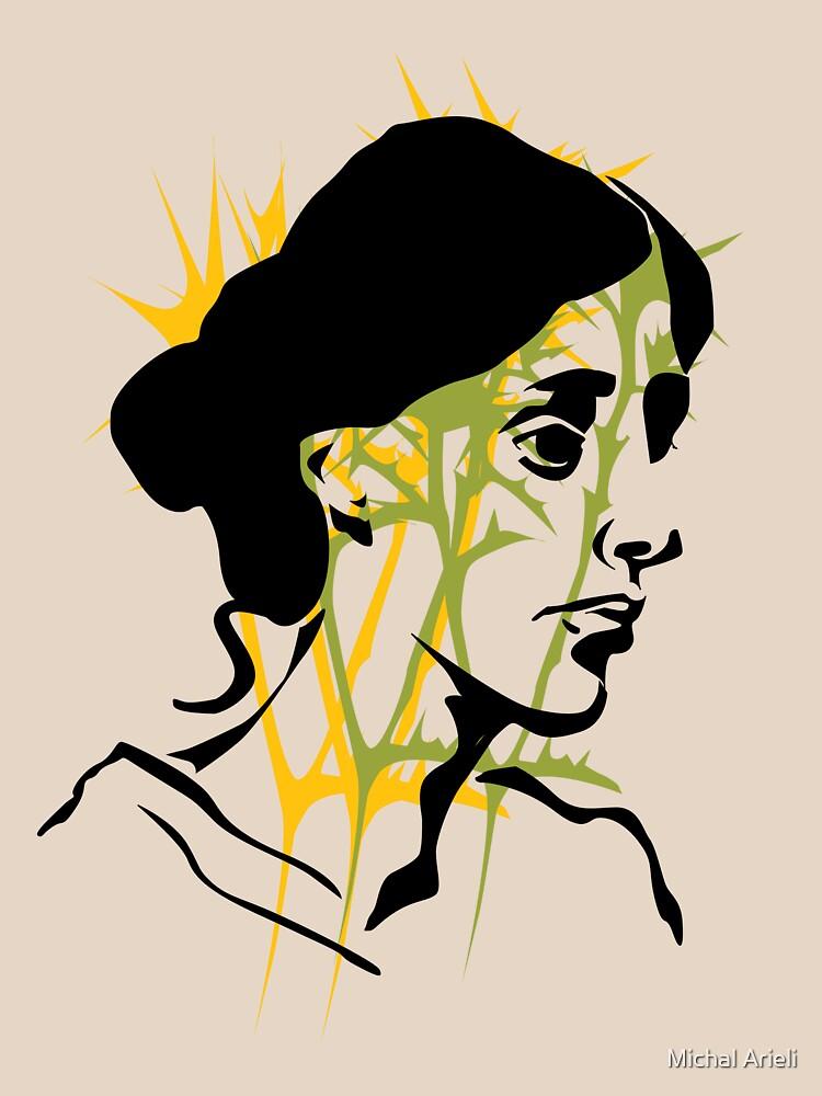 Virginia Woolf by michalarieli