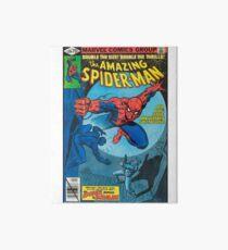 Spiderman Comic Art Board