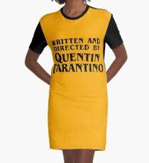 Vestido camiseta Escrito y dirigido por Quentin Tarantino.