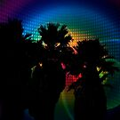 Psychedelic Palms  by Heather Friedman