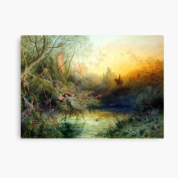 Fairyland - Gustave Dore Canvas Print