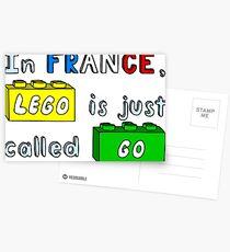 French Lego Postcards