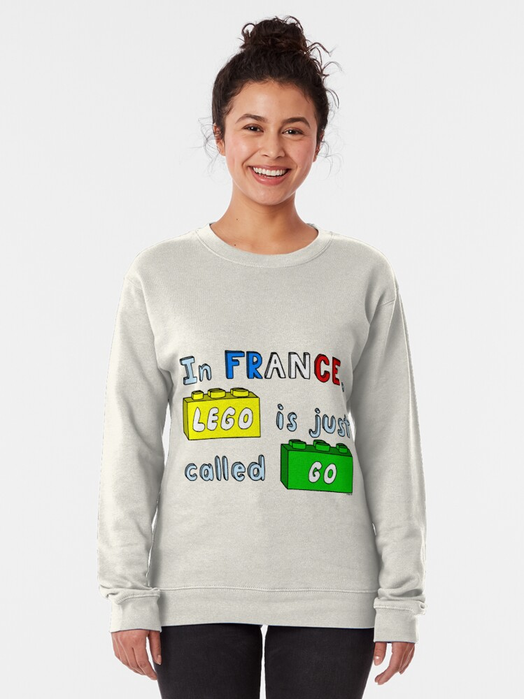 Alternate view of French Lego Pullover Sweatshirt