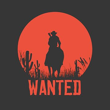 Red Dead Redemption 2 - Wanted by mymainmandeebo