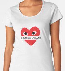 Garcons Heart Women's Premium T-Shirt