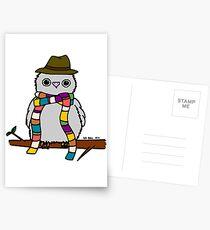 Dr Hoo Postcards