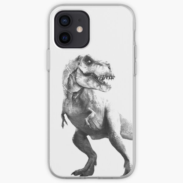 Tyrant Lizard King iPhone Soft Case