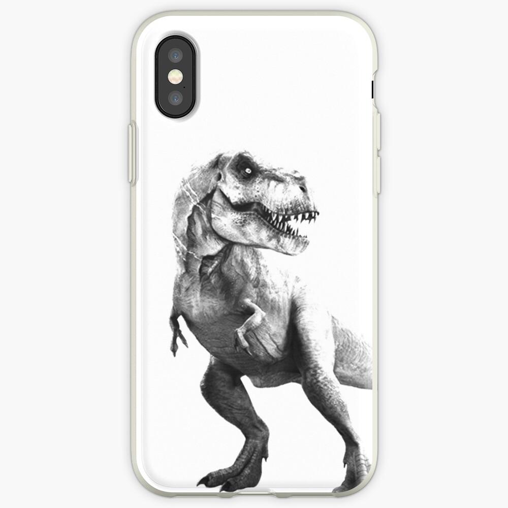 Tyrant Lizard King Funda y vinilo para iPhone