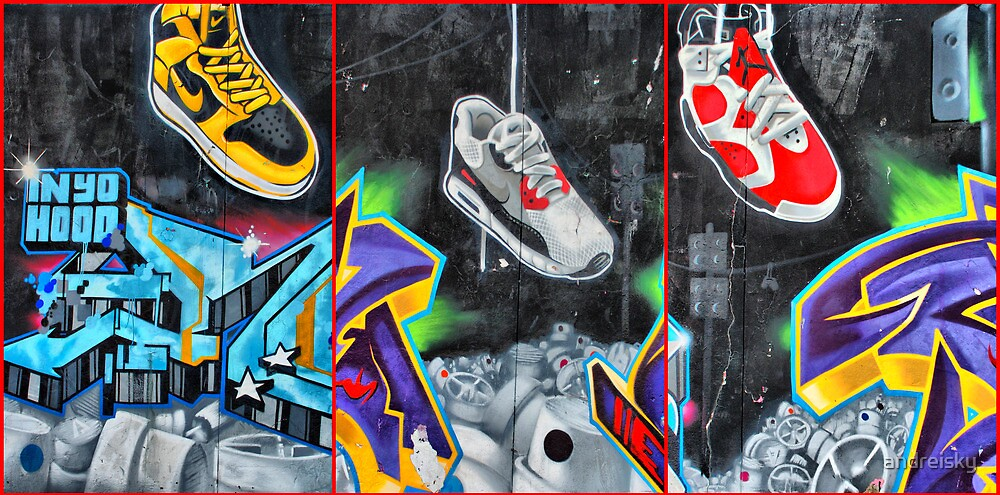 Quot Sneakers Bondi Graffiti Quot By Andreisky Redbubble