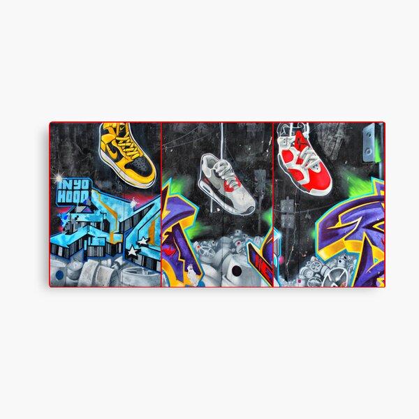 Sneakers. Bondi graffiti Canvas Print