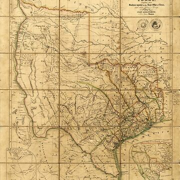 Map of Texas (1841) by allhistory