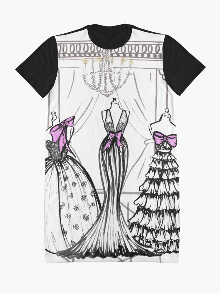 Alternate view of Couture mood Graphic T-Shirt Dress
