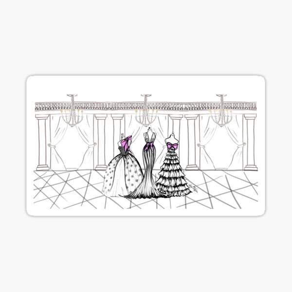 Couture mood Sticker