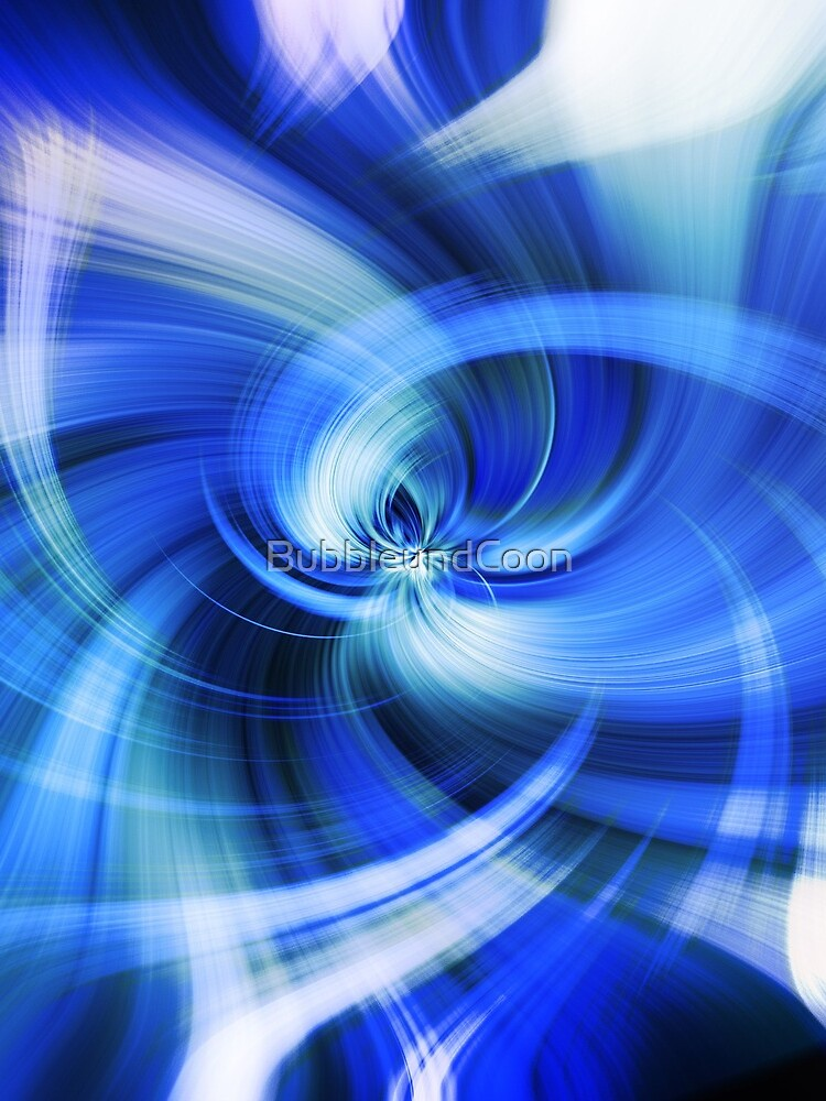 blauer Wirbel von BubbleundCoon