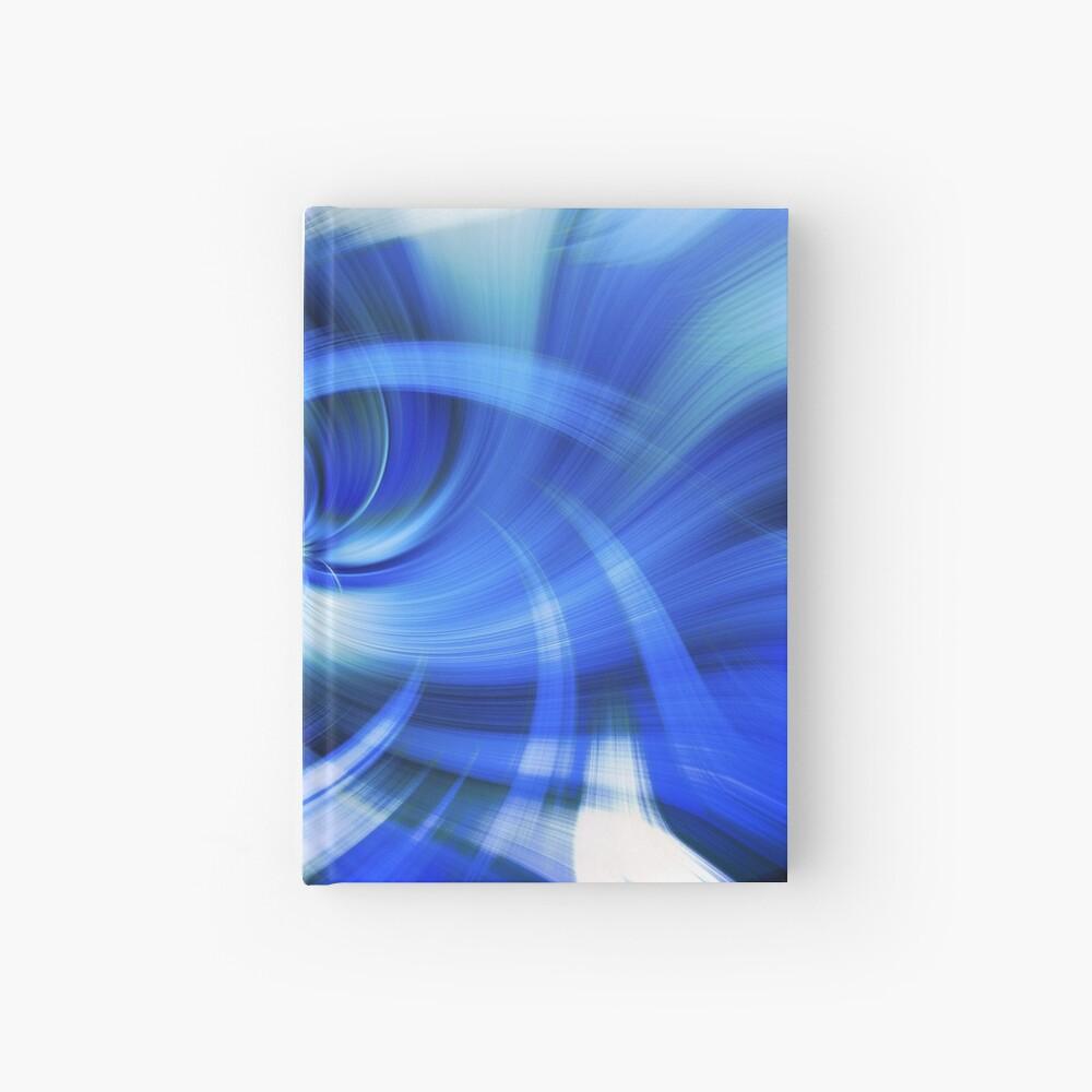 blauer Wirbel Notizbuch