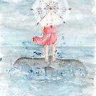 « L'Ombrelle et la Baleine » par avec2ailes