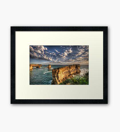 Grandeur - Razorback - Great Ocean Road - The HDR Experience Framed Print