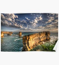 Grandeur - Razorback - Great Ocean Road - The HDR Experience Poster