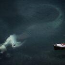 Napping Mermaid by Dawn van Doorn
