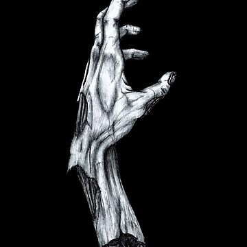Zombie Hand by artoftheabyss