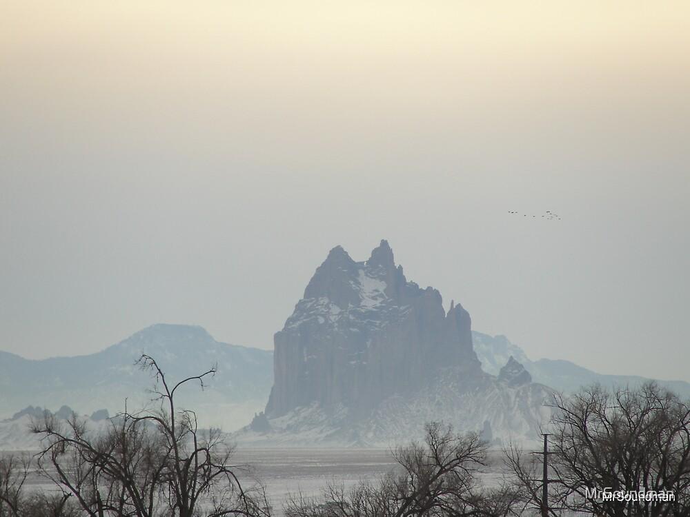 Misty Ship Rock by MrSoundman