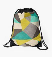 Polygons Drawstring Bag
