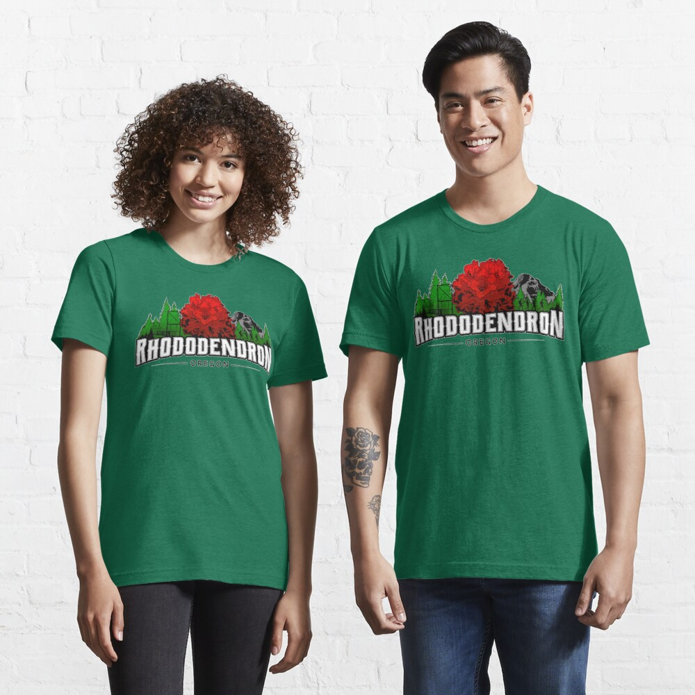 Rhododendron, Oregon - FULL COLOR Essential T-Shirt
