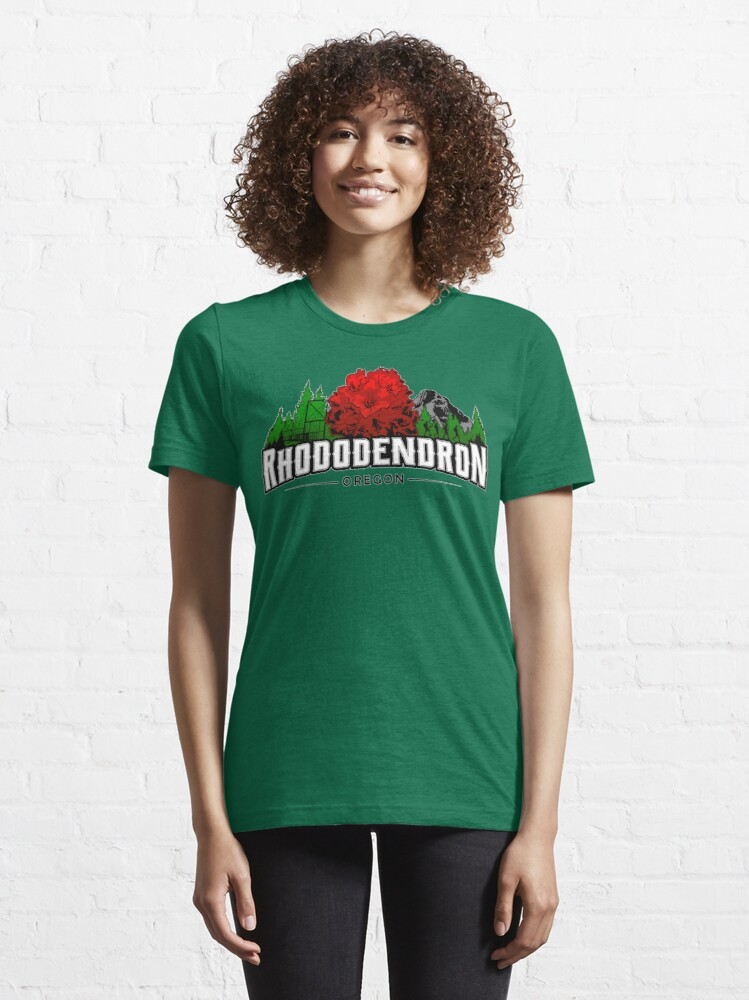Alternate view of Rhododendron, Oregon - FULL COLOR Essential T-Shirt