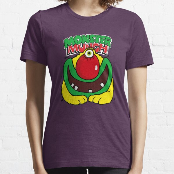 Pickled Onion Monster Munch Retro 80s English Snacks Essential T-Shirt
