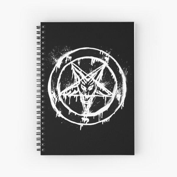 Pentagram Spiral Notebook