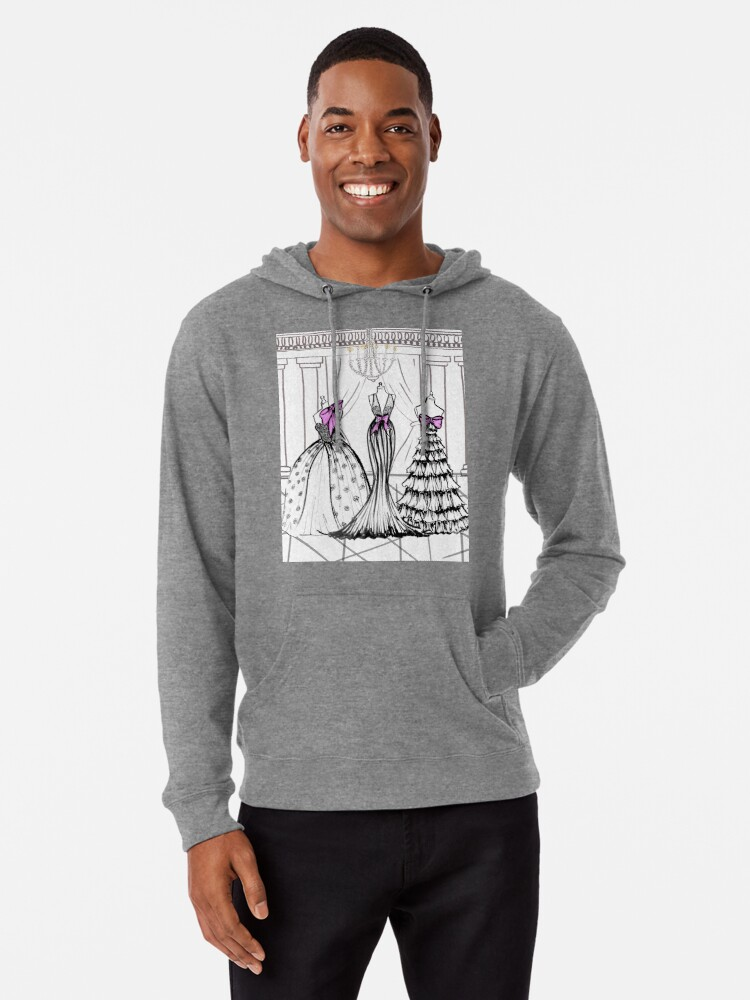 Alternate view of Couture mood Lightweight Hoodie