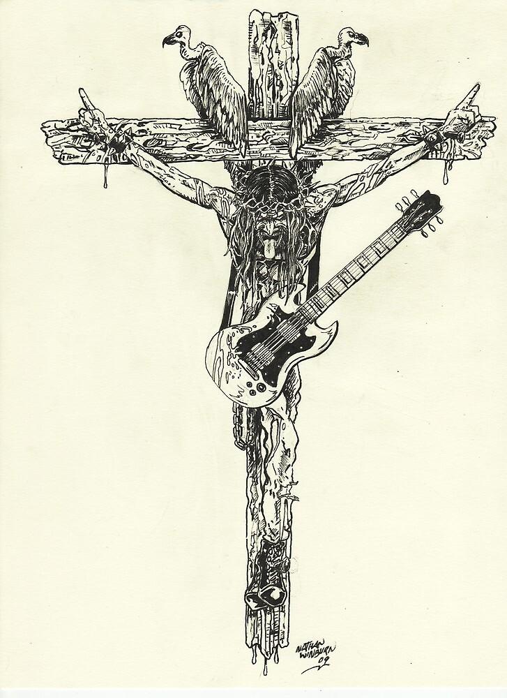 Rockstar Jesus by samurai30